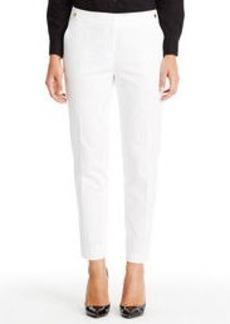 Stretch Slim Ankle Pants