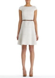 Swing Dress with Cap Sleeves
