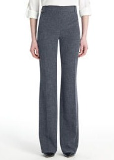 Tailored Pants with Flapped Coin Pocket
