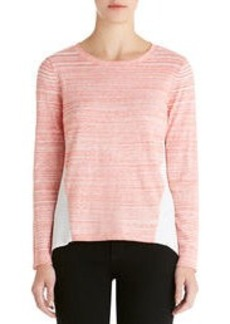 Tee Shirt with Pleated Back