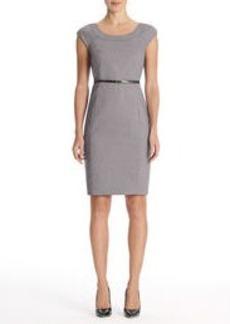 The Brooke Birdseye Seasonless Stretch Bolero Neck Dress