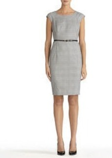 The Brooke Seasonless Stretch Dress with Cap Sleeves
