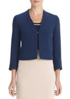 The Caroline 3/4-Sleeve Jacket with Open Front