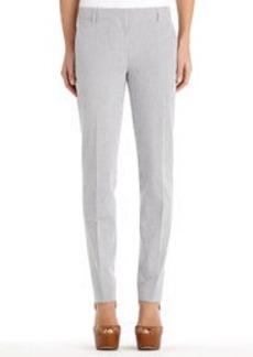 The Grace Seersucker Skinny Trousers (Plus)