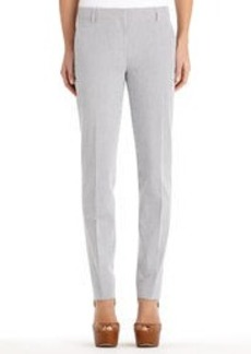 The Grace Seersucker Skinny Trousers (Plus)