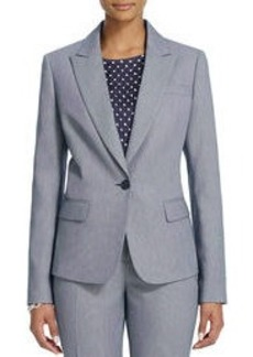 The Julia Jacket in Birdseye Weave