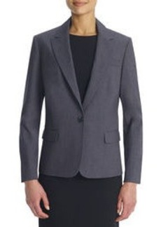 The Julia Seasonless Stretch One-Button Jacket (Petite)