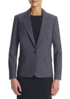 The Julia Seasonless Stretch One-Button Jacket (Plus)