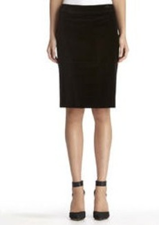 The Lucy Black Pencil Skirt