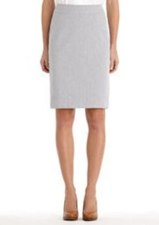 The Lucy Seersucker Pencil Skirt
