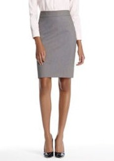 The Lucy Skirt in Birdseye Seasonless Stretch