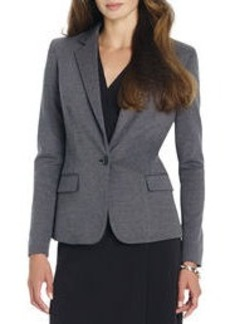The Meredith Jacket in Ponte (Plus)