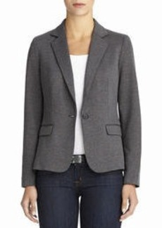The Meredith Ponte Knit One-Button Blazer