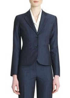 The Olivia Dressy Denim Blazer