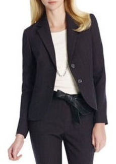 The Olivia Jacket in Pinstripe