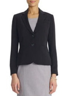 The Olivia Jacket in Soft Suiting