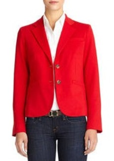 The Olivia Two Button Seasonless Stretch Jacket (Plus)