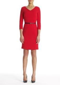 The Scarlett Dress in Ponte