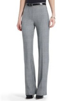 The Sloane Pant in Glen Plaid (Petite)