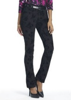 The Straight Leg Jean in Flock Print