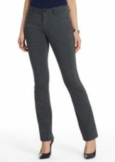 The Straight Leg Jean in Ponte