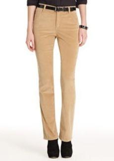 The Straight Leg Jean in Stretch Cord (Plus)