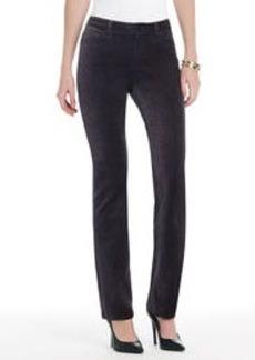 The Straight Leg Jean in Velveteen (Plus)