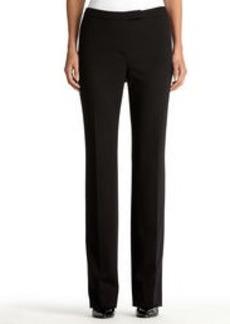 The Sydney Ponte Knit Black Pants (Petite)