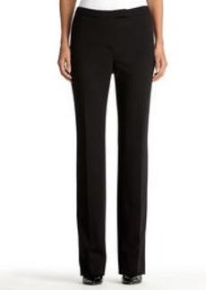 The Sydney Ponte Knit Black Pants (Plus)