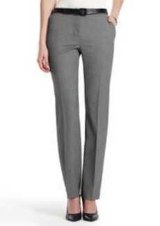 The Sydney Slim-Leg Stretch Pants in Birdseye Weave (Petite)