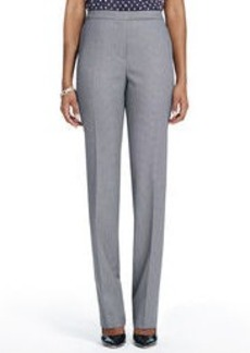 The Sydney Slim-Leg Stretch Pants in Birdseye Weave (Plus)