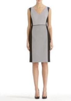 V-Neck Sheath Dress