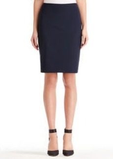 Washable Wool Pencil Skirt