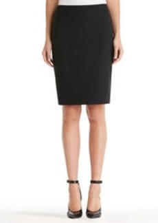 Washable Wool Pencil Skirt (Plus)