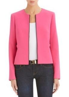 Zip-Front Blazer