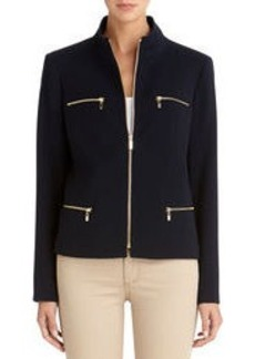 Zip Front Jacket (Plus)