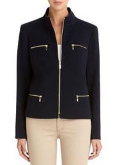 Zip Front Jacket (Plus)