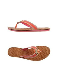 JUICY COUTURE - Flip flops & clog sandals