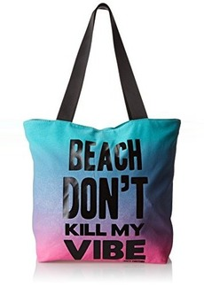 Juicy Couture beach Don't Kill My Vibe Juicy Graphics Travel Tote