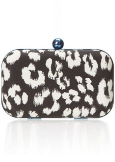 Juicy Couture Date Item Printed Minaudiere Clutch
