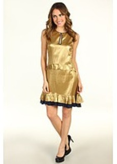 Juicy Couture Hammered Silk Satin Dress