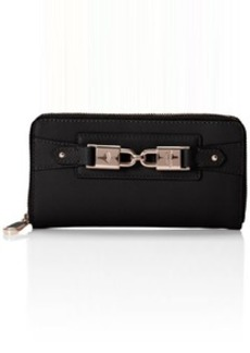 Juicy Couture Hillcrest Leather Zip Continental Wallet