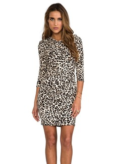 Juicy Couture King Cheetah Dress in Brown