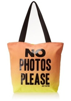 Juicy Couture no Photos Please Juicy Graphics Travel Tote
