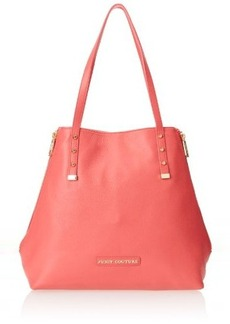 Juicy Couture Orange Grove Winged Large Tote Shoulder Bag