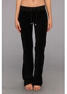Juicy Couture Original Velour Bootcut Pant w/ Snap Pocket