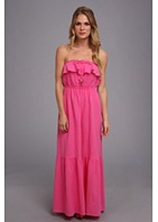 Juicy Couture Ruffled Maxi Dress