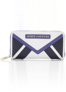 Juicy Couture Sierra Colorblock Leather Zip Continental Wallet