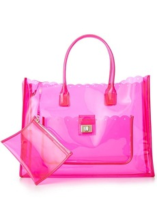Juicy Couture Silverlake Clear Beach Tote
