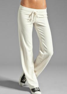 Juicy Couture Velour Collegiate Crest Pant